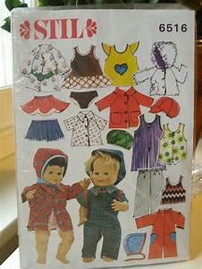 Sy dockkläder mönster gratis
