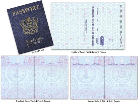 blank    passport custom passport invitations