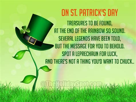st patricks day poem irish poems
