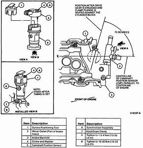 Replace A Camshaft Position Sensor Ford Taurus