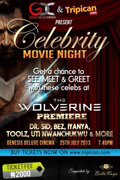 tripicancom genesis deluxe cinemas present celebrity