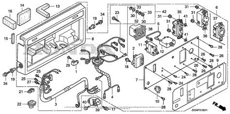 honda eb3000ck1 an generator jpn vin ezgp 1130001 to ezgp 9999999 parts diagram for