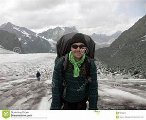 Mountaineer_on_Glacier Royalty Free Stock Photography ...