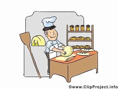 Baker Clipart Bread Boulanger Clip Illustrations Transparent
