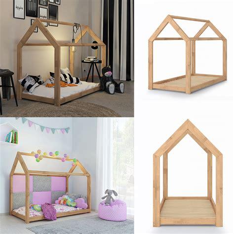 Für Kinderbett by Kinderbett Kinderhaus Bett Kinder Holz Haus Schlafen Real