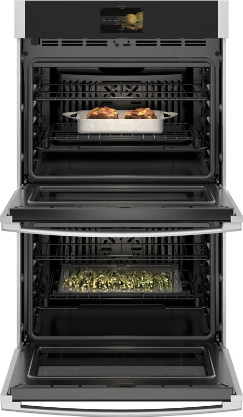 ge profile ptdsnss  smart convection wall oven stainless steel