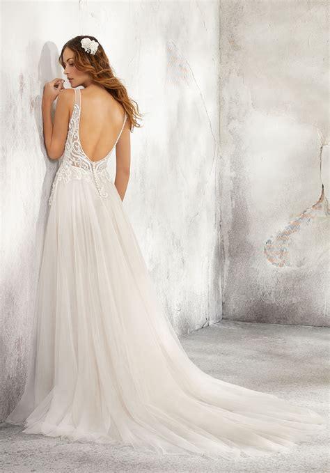 leonita wedding dress style  morilee