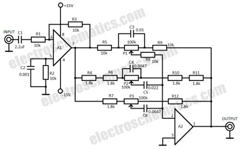 Band Audio Equalizer Circuit Schematic Let Talk