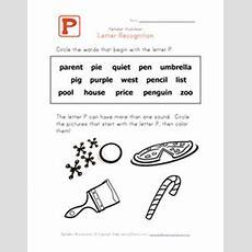 Letter D Words  Alphabet Recognition Page  Kids Learning Station  Preschool Letters