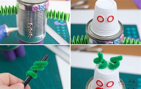 pasos para hacer un robot con material reciclable que se mueva m 225 s de 25 ideas incre 237
