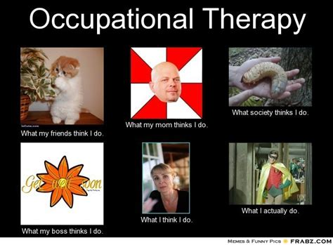Occupational Therapy Memes - occupational therapy meme generator what i do