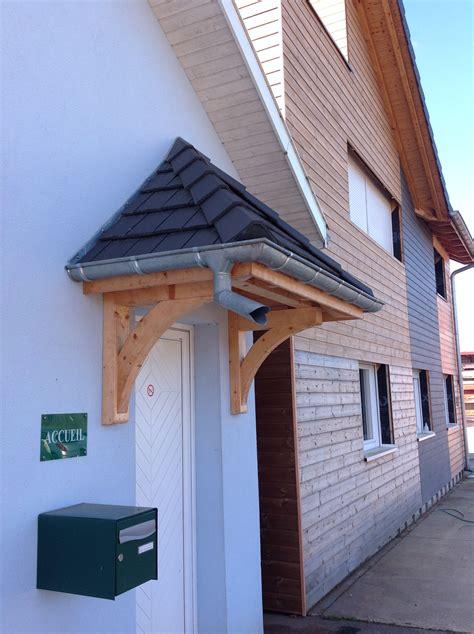 marquise de protection dentrees abt construction bois