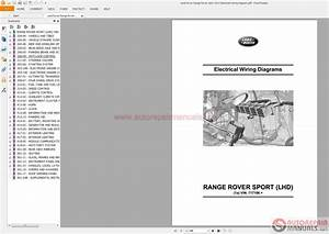 Land Rover Range Rover Sport 2012 Electrical Wiring