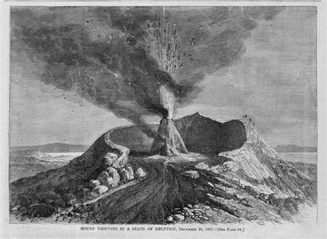 Ebay Volcano Lava L by Mount Vesuvius In A State Of Eruption Starting In 1867