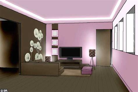 couleur de chambre moderne decoration de salon peinture