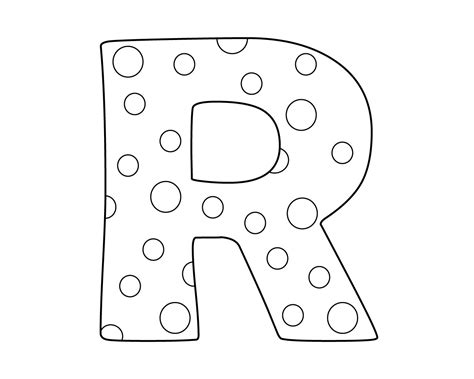 Coloring Letter R by Best And Easy Letter R Coloring Pages To Print