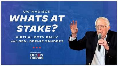 Bernie Sanders Biden Harris Campaign Wisconsin