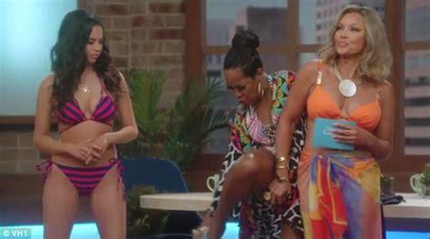 vanessa angel swimsuit vanessa williams shoots bikini scene on daytime divas