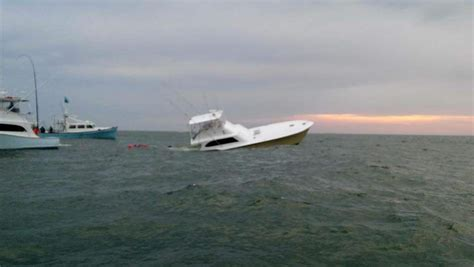 Tuna Outer Banks Boat Sinks by Sportfishing Boat Quot Waste Knot Quot Sinks Today Oregon