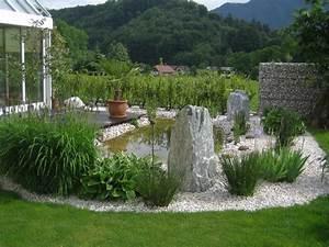 Steine Für Gartenteich : teich gr ne pflanzen und steine f r eine sch ne garten gestaltung gartengestaltung 60 ~ Sanjose-hotels-ca.com Haus und Dekorationen