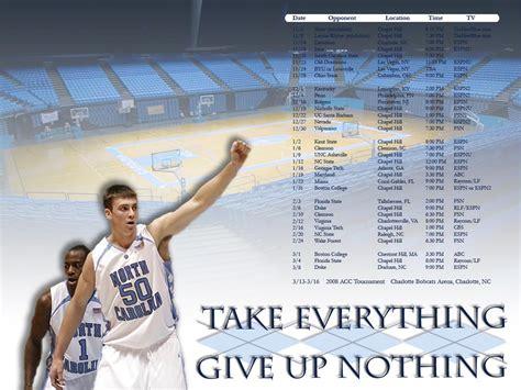 photo   unc basketball schedule wallpaper tar