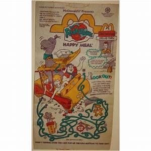 1994 McDonalds The Flintstones Happy Meal Bag on eBid ...