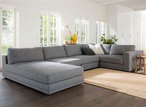 deep seated wide seat sectional sofa aired on tv