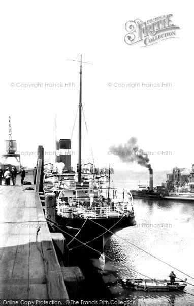 Heysham, The Docks c.1915 - Francis Frith
