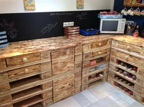 kitchen cabinets made out of pallets diy recycled pallet wall ideas ideas with pallets 9165