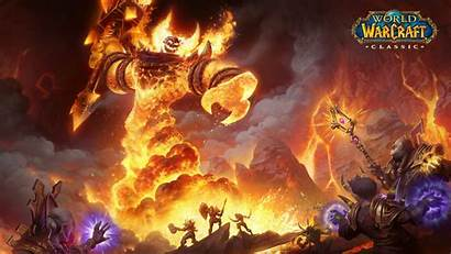 Warcraft Classic Wallpapers Blizzard Cave