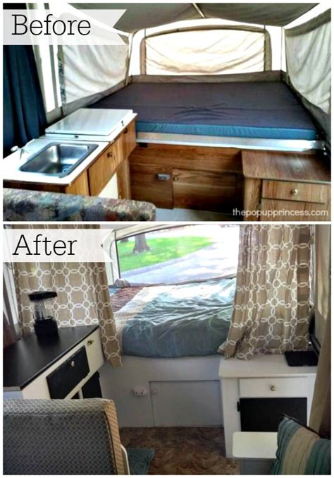 Living Room Makeovers On A Budget by Cassie P S Pop Up Camper Makeover The Pop Up Princess
