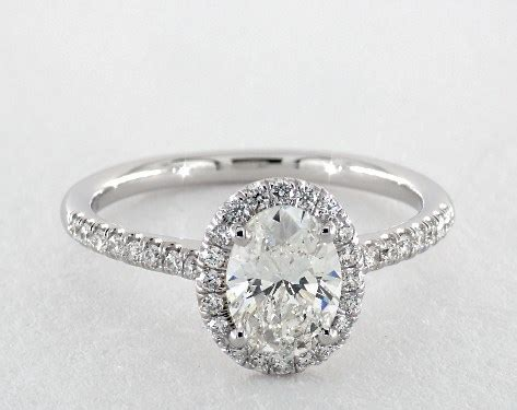 oval cut engagement rings jamesallencom
