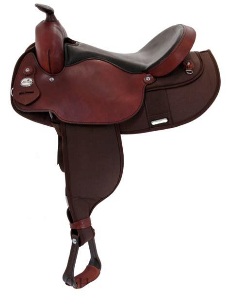 arabian fabtron saddle saddles horse western 16inch 15inch trail weight light rider