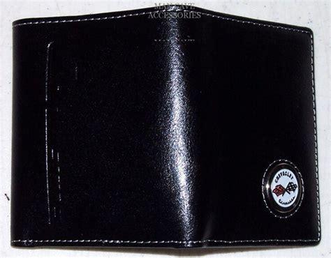 buy chevrolet corvette   tri fold billfold wallet chevy