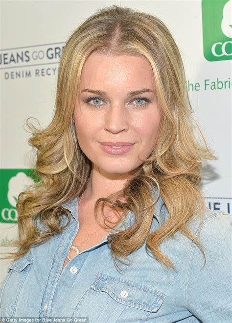 ultratouch denim romijn gets flirty with husband jerry o 39 connell at