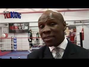 Chris Eubank talks about his son Chris Eubank Jr boxing ...