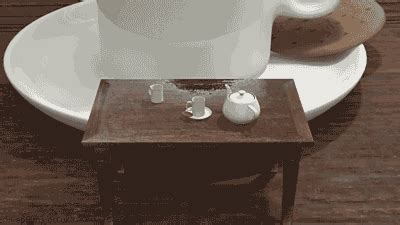 funny table desk animated gif pics  animations