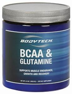Bodytech - Bcaa  U0026 Glutamine  6 9 Oz Powder