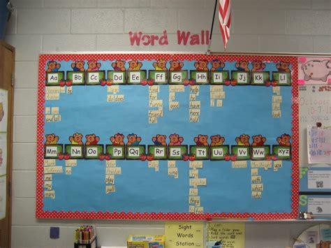 word wall a cutesy crafty word wall