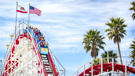 santa cruz beach boardwalk amusement park rides