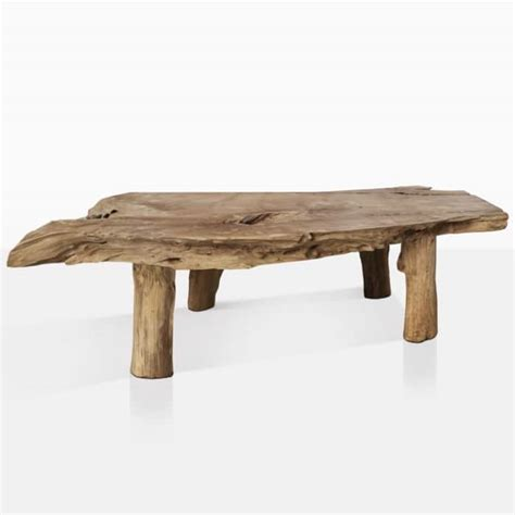 Surely, a coffee table with a storage shelf underneath its top is nothing unusual. River Teak Organic Coffee Table | Outdoor Furniture | Design Warehouse NZ