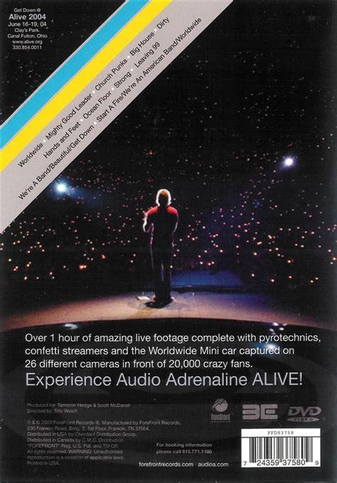 Audio Adrenaline Floor Album by Audio Adrenaline Alive Worldwide Dvd Ebay