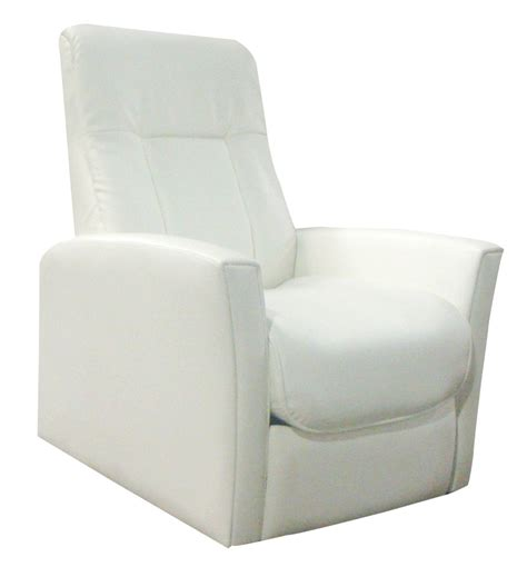 fauteuil relax simili cuir blanc relaxo lestendances fr