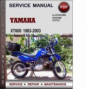 Yamaha Xt600 1983