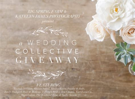 A Wedding Collective Giveaway