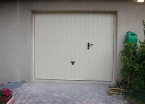 Porte De Garage Avec Portillon Pas Cher : porte de garage sur mesure avec portillon voiture et automobile moto ~ Nature-et-papiers.com Idées de Décoration
