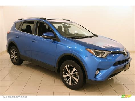 Toyota Rav4 Electric by 2016 Electric Blue Toyota Rav4 Xle Awd 118538252