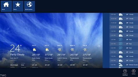 weather app settings windows 8 weather app features settings