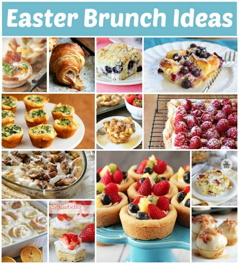 easter brunch ideas tasty easter brunch ideas tauni co