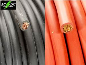 6 Awg Gauge All Copper Wire Sae J1127 Car Battery Solar
